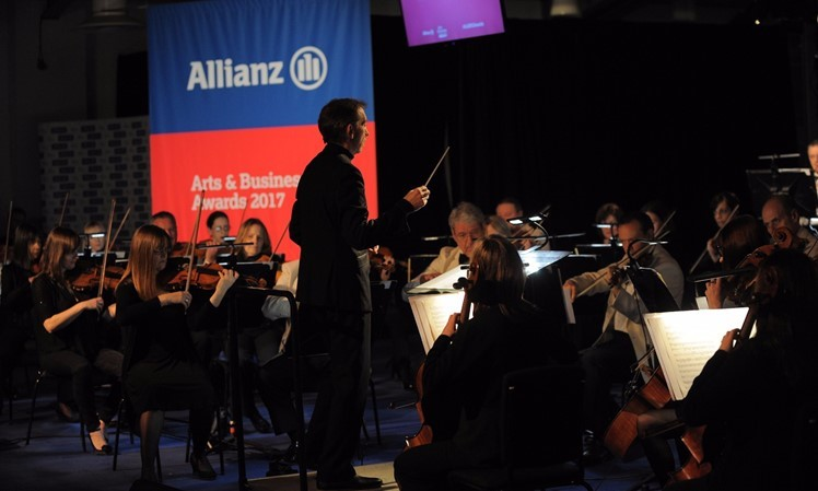 Ulster Orchestra performing at Allianz Arts & Business NI Awards 2017.jpg