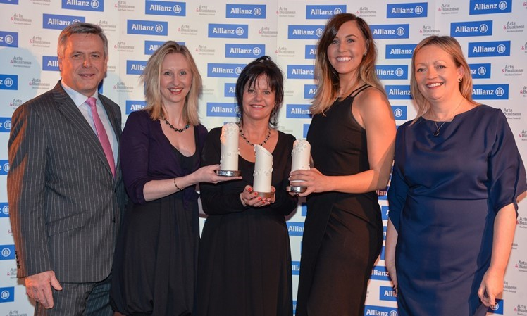 Allianz A&B NI Awards ' 17 - Corporate Responsibility Award winner - 30 businesses in Coleraine, Portrush & Portstewart & Big Telly Theatre Company.jpg
