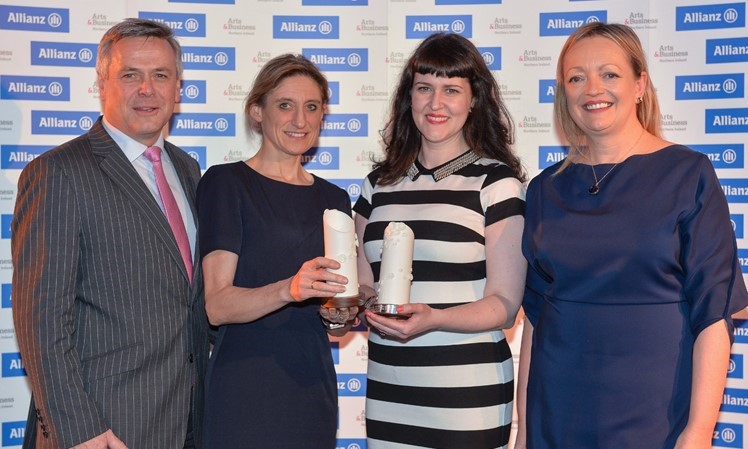 Allianz A&B NI Awards '17 - Sustained Partnership Award winner - Translink and Festial of Fools.jpg