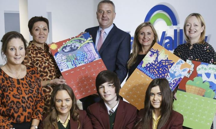 Fane Valley Partner with ArtsCare for Creative Agri Calendar with Local Schools