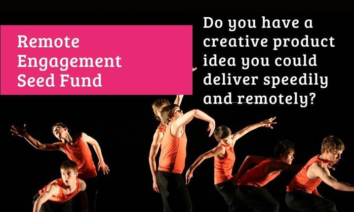Arts & Business NI announces Remote Engagement Seed Fund
